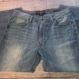 Lucky brand Men's Jean 181 relaxed straight 33x26